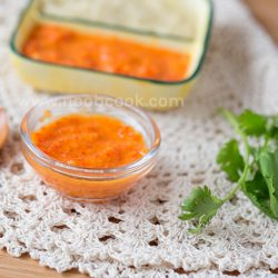 Chicken Rice Chilli Sauce Recipe