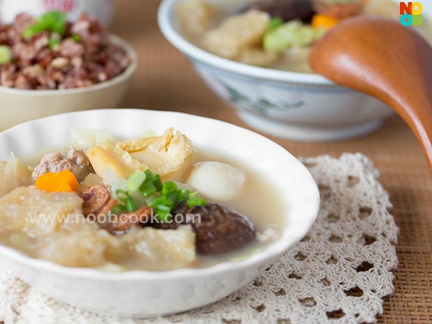 Nyonya Fish Maw Soup Recipe