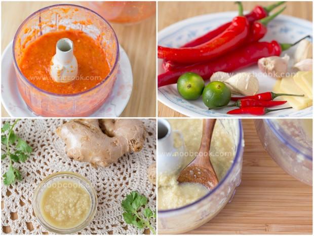 Hainanese Chicken Rice Chilli & Ginger Sauces Recipe