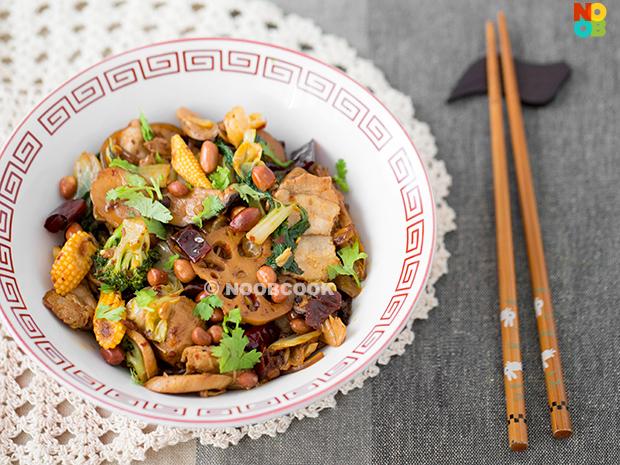 Mala Xiang Guo (Sichuan Spicy Numbing Stir-fry) Recipe