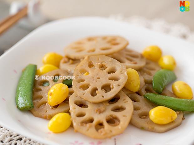 Stir-fry Lotus Root Recipe