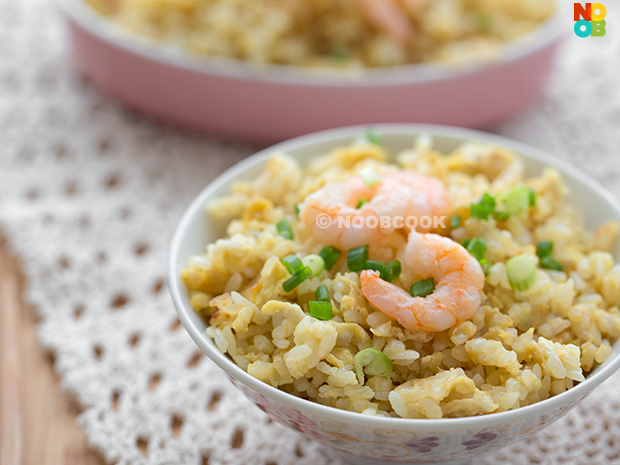Shrimp & Egg Fried Rice Recipe