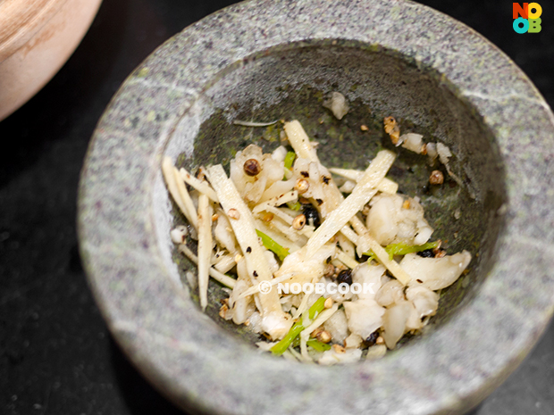 Claypot Thai Glass Noodles with Prawns Recipe