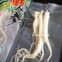 Fresh Ginseng