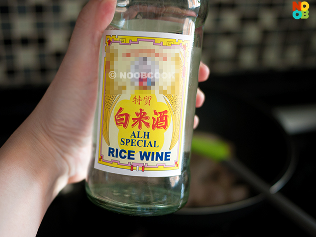 Rice wine for sesame oil chicken
