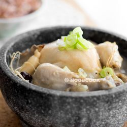 Korean Ginseng Chicken Soup (Samgyetang) Recipe