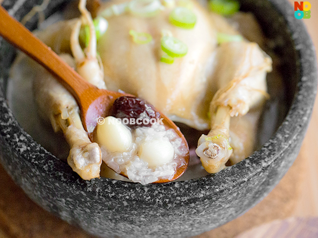 Samgyetang Recipe