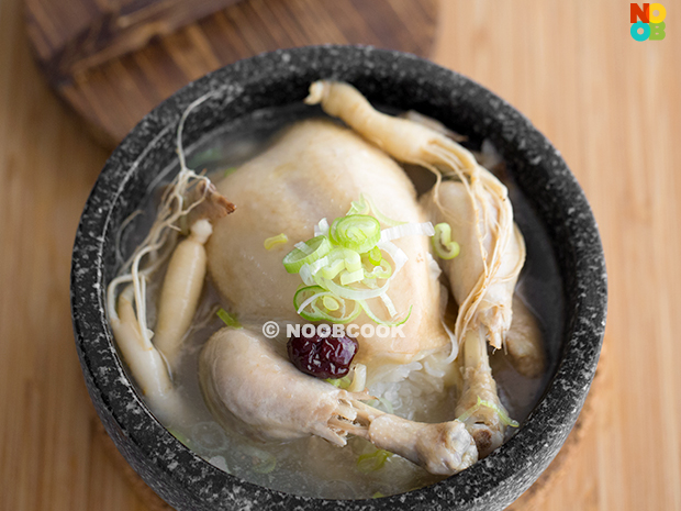 Samgyetang Recipe