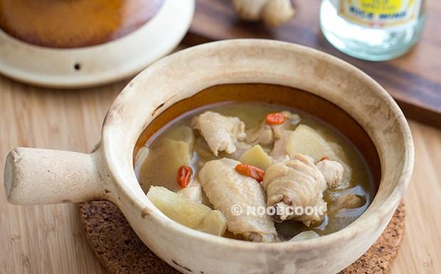 Sesame Wine Chicken Recipe