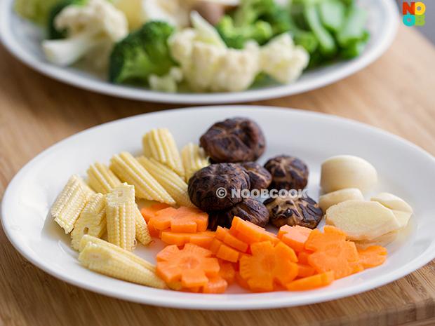 Claypot Tofu Vegetables Recipe