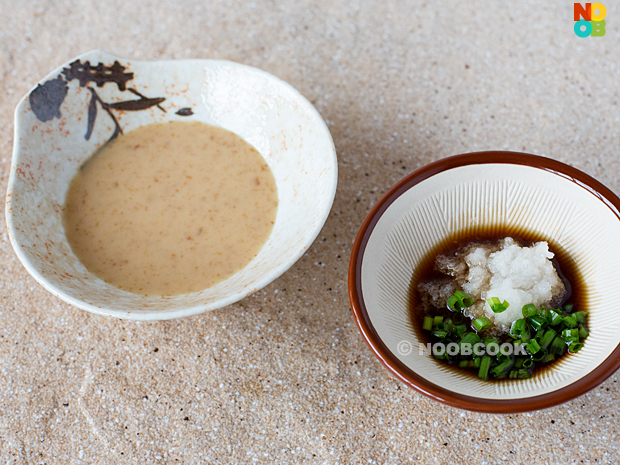 Japanese Hot Pot Sauces