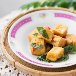 Salted Egg Yolk Tofu Recipe