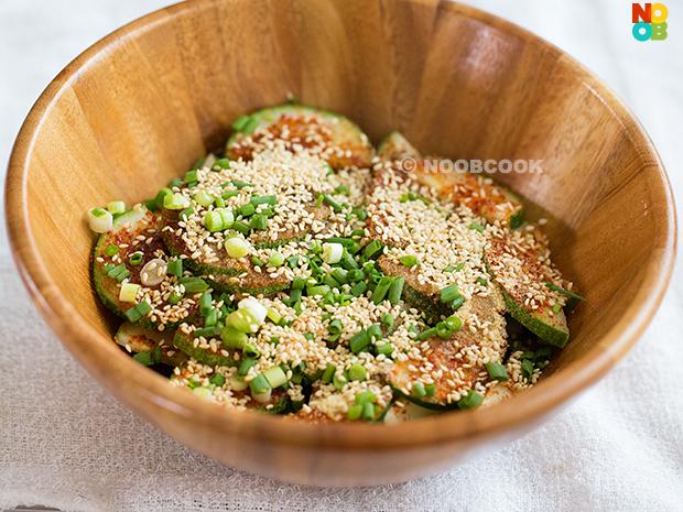 Korean Spicy Cucumber Salad Recipe
