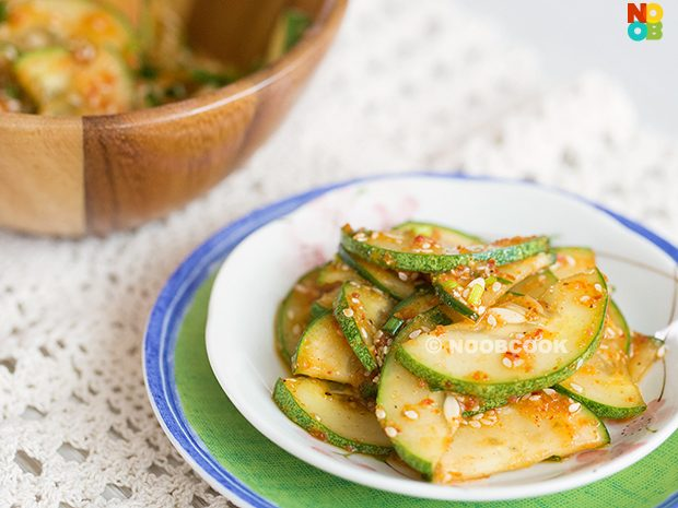 Korean Spicy Cucumber Salad Recipe (Oi-muchim)