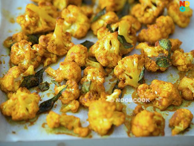 Curried Cauliflower Recipe