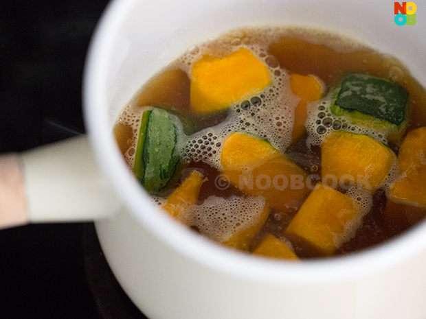 Simmered Pumpkin Japanese Recipe