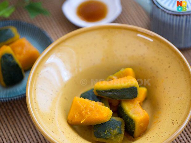 Simmered Pumpkin Japanese Recipe