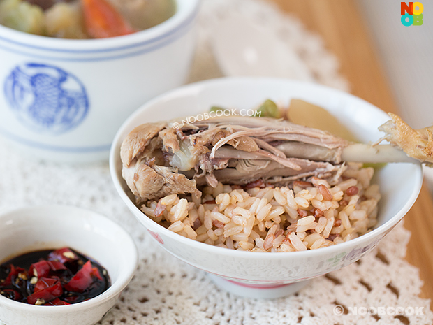Szechuan Vegetable Duck Soup