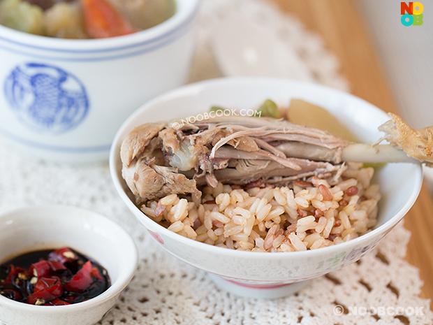 Szechuan Vegetable Duck Soup