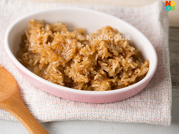 cooked glutinous rice