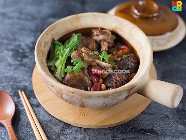 Claypot Chicken Brown Rice Recipe