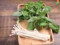 Sharp Spinach & Enoki