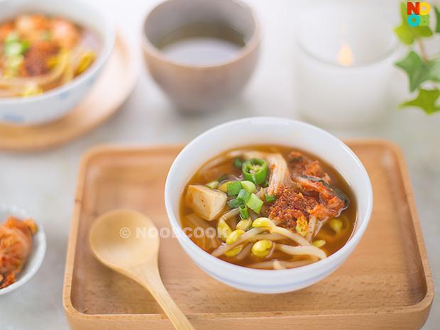 Korean Bean Sprout Soup Recipe