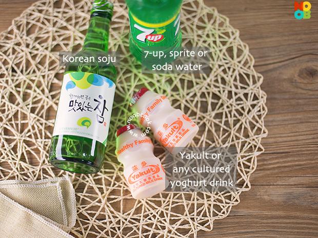 Korean Yakult Soju Recipe