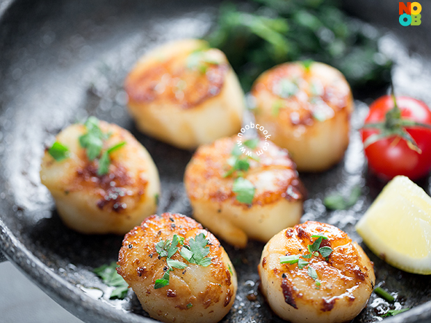 Perfectly Seared Scallops Recipe