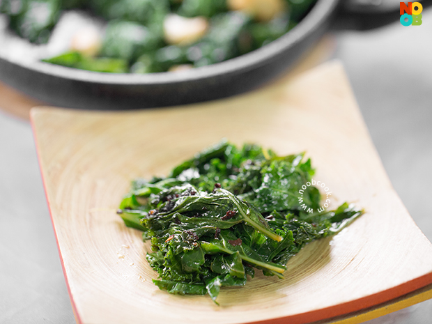 Simple Sauteed Kale Recipe