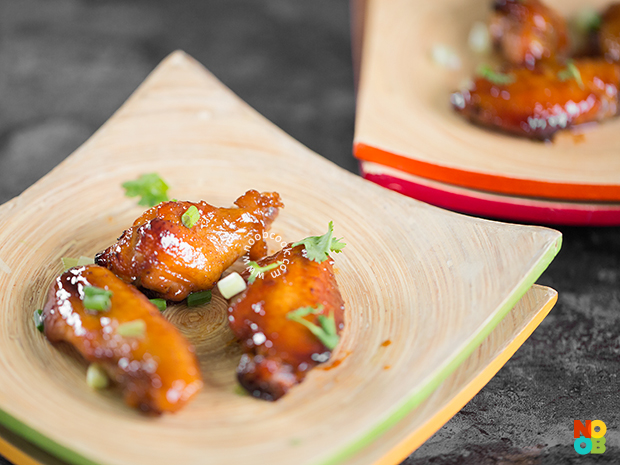 Baked Marmite Chicken Wings Recipe