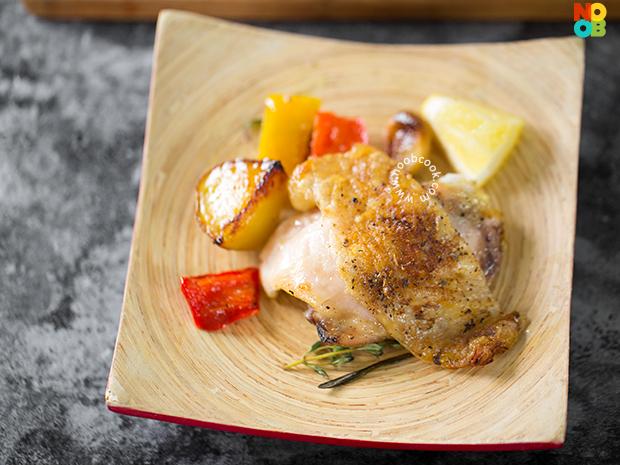 how to get crispy skin roasting chicken oven