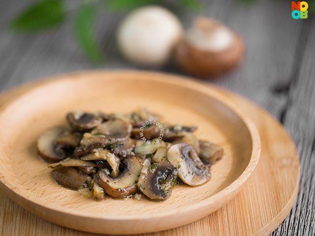 Butter Sauteed Mushrooms Recipe