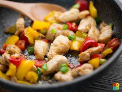 Chicken Bell Peppers Stir-fry Recipe