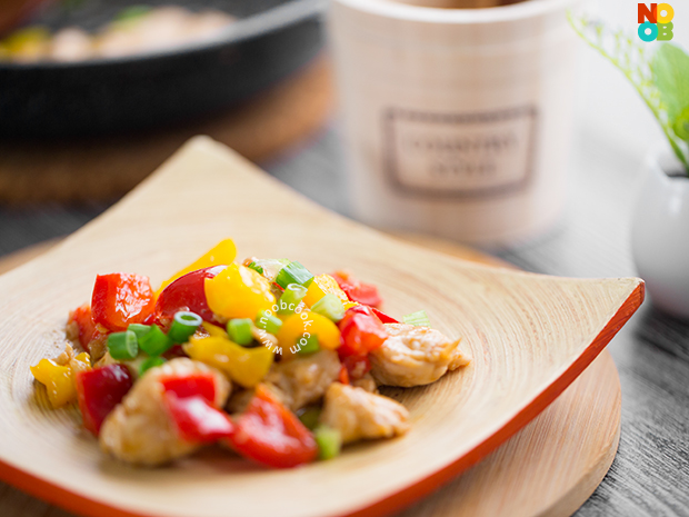 Bell Peppers Chicken Stir-fry Recipe