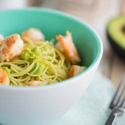 Avocado Shrimp Pasta Recipe