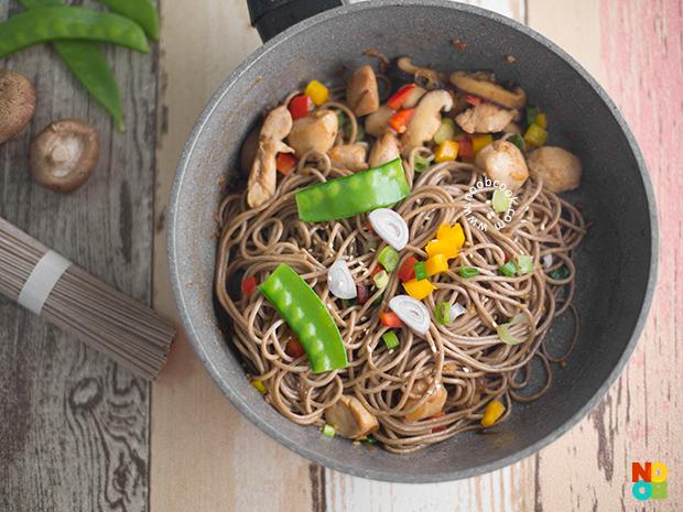 Chicken Soba Noodle Stir-fry Recipe