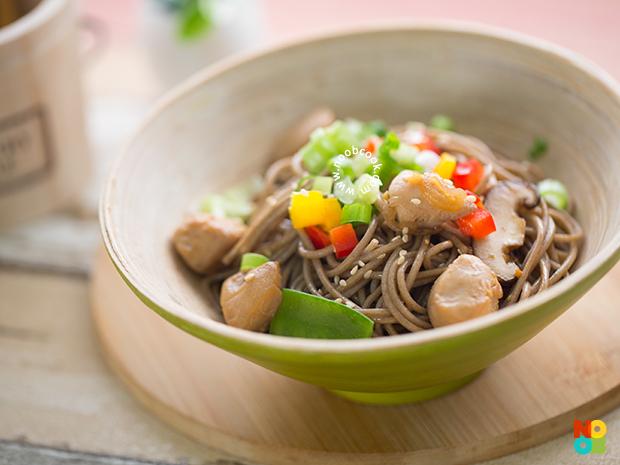 Chicken Soba Noodles Recipe