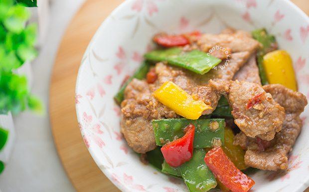Sacha Pork Stir-fry Recipe