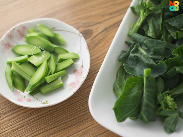 Hong Kong Kailan (Chinese Broccoli)