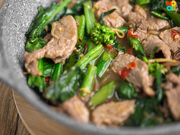 Beef with Kailan (Chinese Broccoli) Recipe
