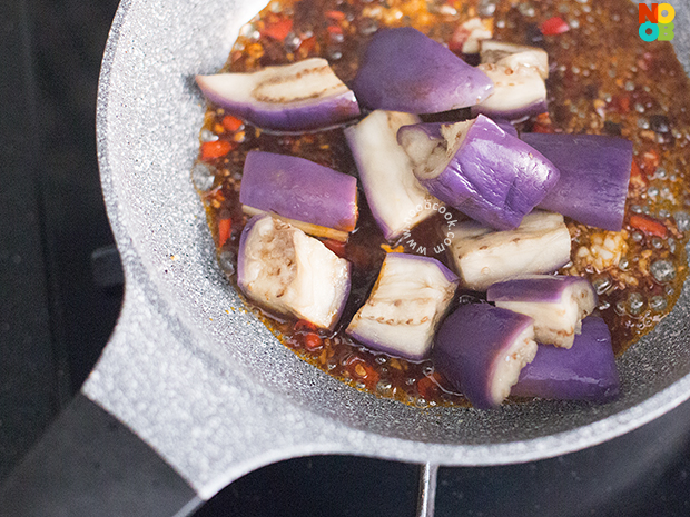 Black Bean Sauce Eggplants Recipe