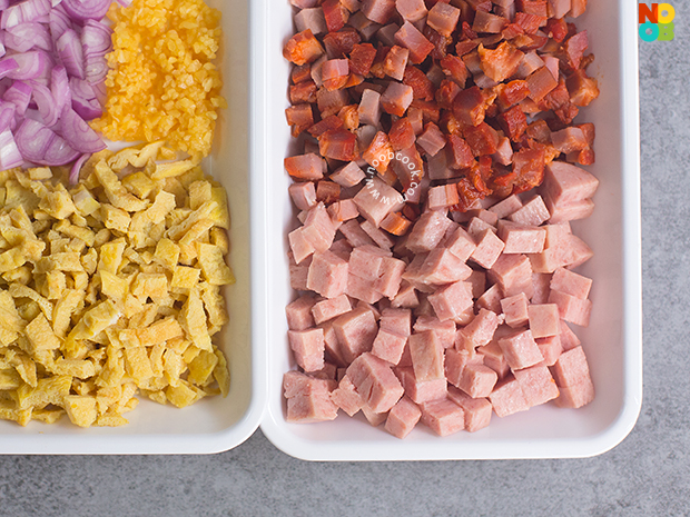 "Quoina ""Fried Rice"" Ingredients"