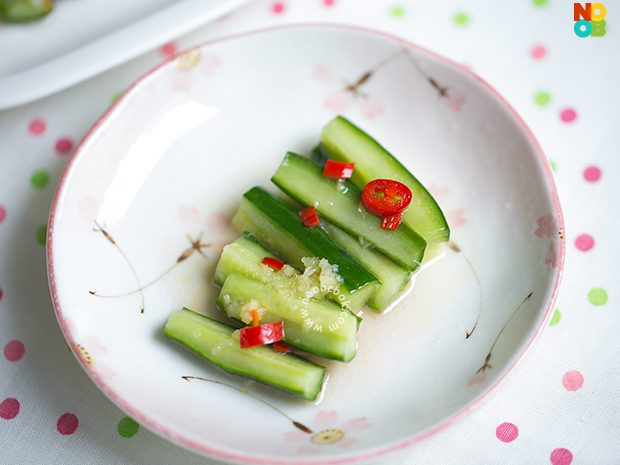 Taiwanese Cucumber Salad Recipe