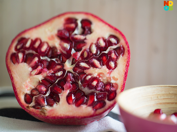 Blood-Red Pomegranate