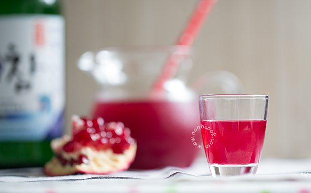 Pomegranate Soju Recipe