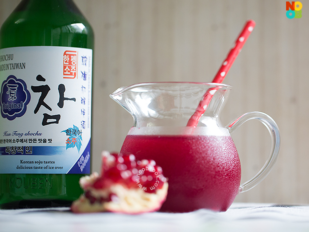 Pomegranate Soju Recipe