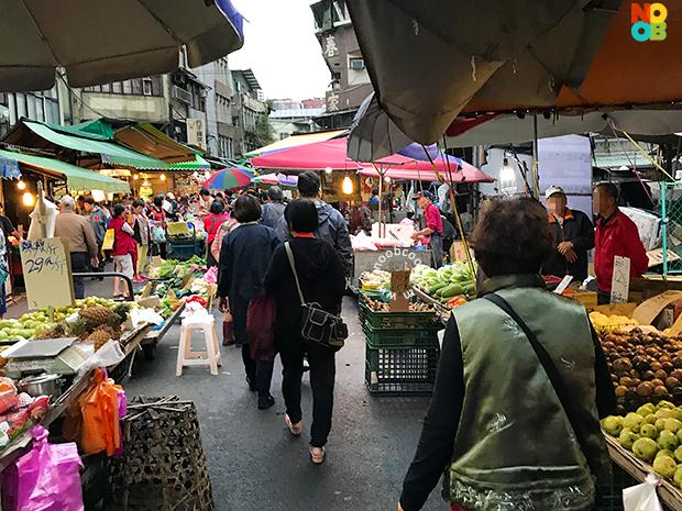 """""""Yong Chun"""" Market in Taipei"""