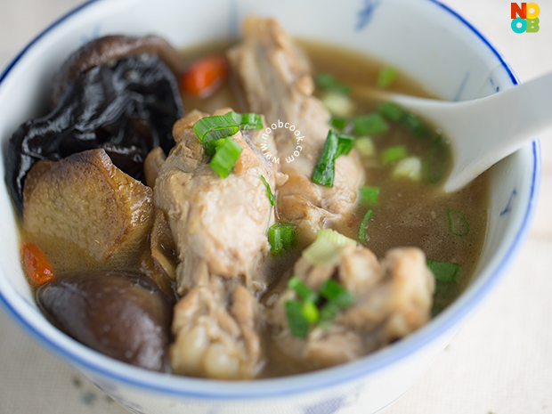 Sesame Wine Chicken Soup