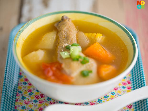 """Chicken """"ABC"""" Soup Recipe"""